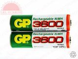 GP RECHARGEABLE BATTERY AA 1.2V 3600mAH