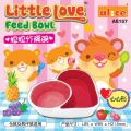 AE157 Alice Little Love Feed Bowl (Heart Shape)