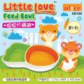 AE158 Alice Little Love Feed Bowl (Carrot Shape)