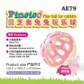 AE79 Pincico Play Ball For Rabbits-Pink