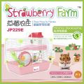 JP229E Jolly Strawberry Farm Hamster Cage(Minimal Packaging)