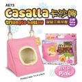 AE73 Alice ''Casalla'' triangle hollow for hamster - Pink