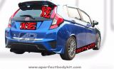 Honda Jazz 2014 NBL Rear Lip (L&R)