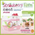 JP229 Jolly Strawberry Farm Hamster Cage