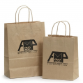 Paper bag printing - Recycled Brown