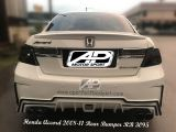Honda Accord 2008 - 2011 Thai Rear Bumper
