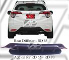 Honda HRV / Vezel Add On Rear Diffuser for NBL Rear Diffuser