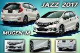 2017 2018 honda jazz bodykit mugen ppu new