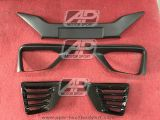 Honda Jazz 2014 NBL, Front Grill, Fog Lamp Cover, Rear Bumper Air Duct Cover