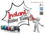Instant Rubber Stamp