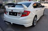 2012 2013 2014 2015 2016 Honda civic fb mugen spoiler bodykit new set