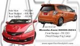 Honda Fit / Jazz 2008 MG RS Bumperkits