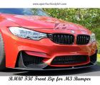 BMW F30 Front Lip For M3 Bumper