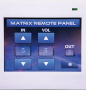 RP1104.Touch Screen Matrix Remote Control Panel