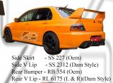 Mitsubishi Evo 9 Oem Side Skirt, Rear Bumper