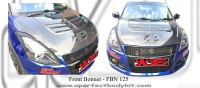 Suzuki Swift 2013 Carbon Fibre Front Bonnet