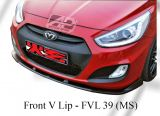 Hyundai Accent 2012-2017 MS Style Front V Lip