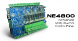 NE4800. Entrypass Networked Multi-Elavator Control Panel