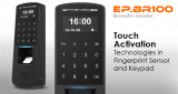 EP.BR100. Entrypass Touch Activation Technologies Fingerprint Sensor and Keypad