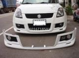suzuki swift sport zc31s monster style front lip for sport bumper add on monster performance look frp material new set