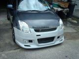 suzuki swift front bumper monster style for swift replace upgrade monster style performance look frp material new set