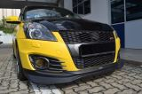 2012 2013 2014 2015 2016 suzuki swift zc32 sport front lip greddy style for sport bumper add on performance look real carbon fiber material new set