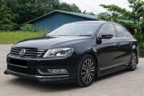 volkswagen passat b7 bodykit rieger style front skirt for passat b7 add on upgrade performance look pp material