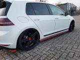 2013 2014 2015 2016 2017 2019 volkswagen golf side skirt beam gti for golf mk7 mk7.5 add on upgrade performance look pp material new set