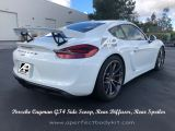 Porsche Cayman GT4 Side Scoop, Rear Diffuser, Rear Spoiler