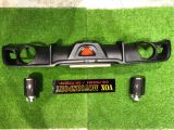 2005 2006 2007 2008 2009 2010 2011 Suzuki swift rear diffuser slr style for swift sport replace add on upgrade performance look black material new set