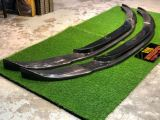 bmw f10 front lip spoiler hamann style for f10 m5 add on upgrade performance look carbon fiber material new set