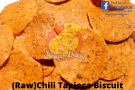 (Raw) Chili Tapioca Biscuit