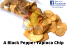 A Black Pepper Tapioca Chip