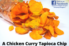 A Chicken Curry Tapioca Chip