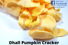 Dhall Pumpkin Cracker