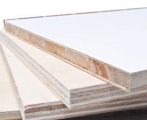 White PVC Laminated Plywood