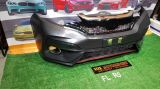 new fl rs pp front bumper fit for honda jazz gk replace upgrade performance look brand new set