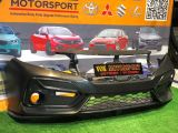 civic fc si pp front bumper fit for honda civic fc replace upgrade performance look brand new set