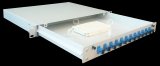 "Rack Mount Fiber Patch Panel 19"". Fiber Optic. #ASIP Connect"