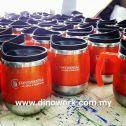 Thermo Mug with logo print