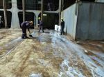 CARGO OIL SPILLAGE CLEANING