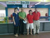 Mr & Mrs David Kee conducted Tancho Draw 2008