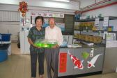 CNY Draw 2007 winner - Mr & Mrs Lim from Taman Johor Panti