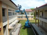 Paint work at Politeknik Johor Bahru