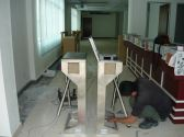 installation Of Turnstile