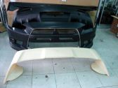 mitsubishi lancer bodykit evo x bumper front ,side ,rear pp