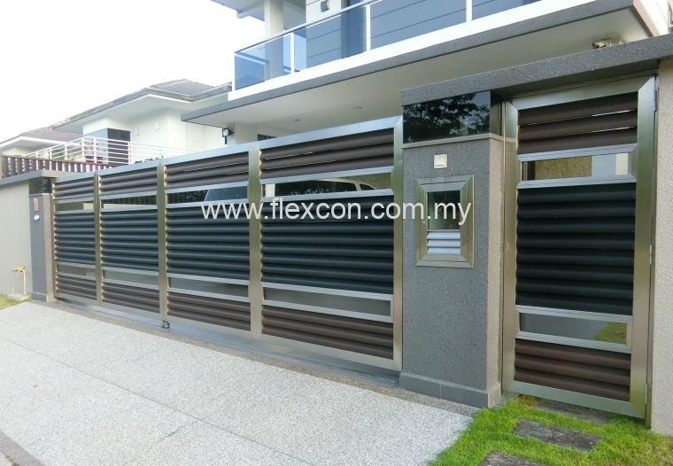 Stainless Steel Gate Design