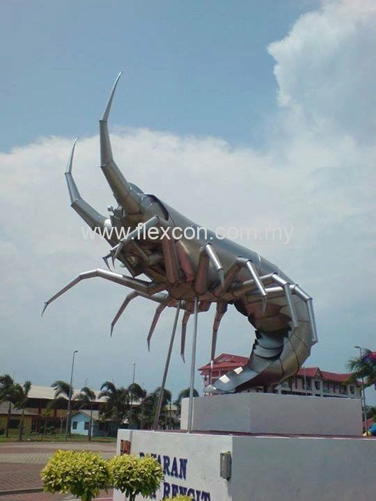 Lobster Landmark - Sungai Rengit