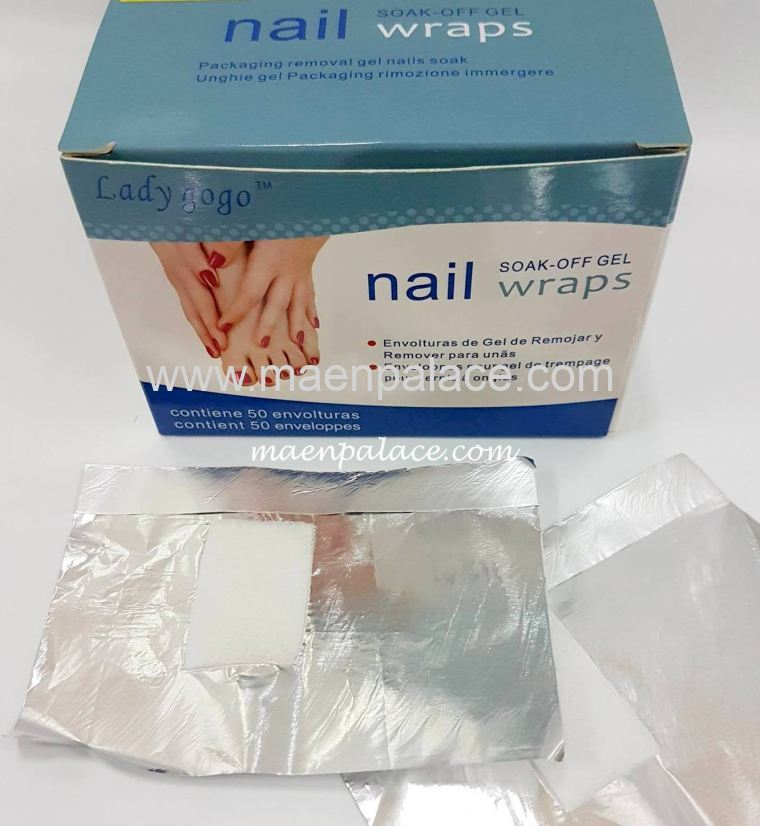 Soak Off Gel Wraps (50pcs)
