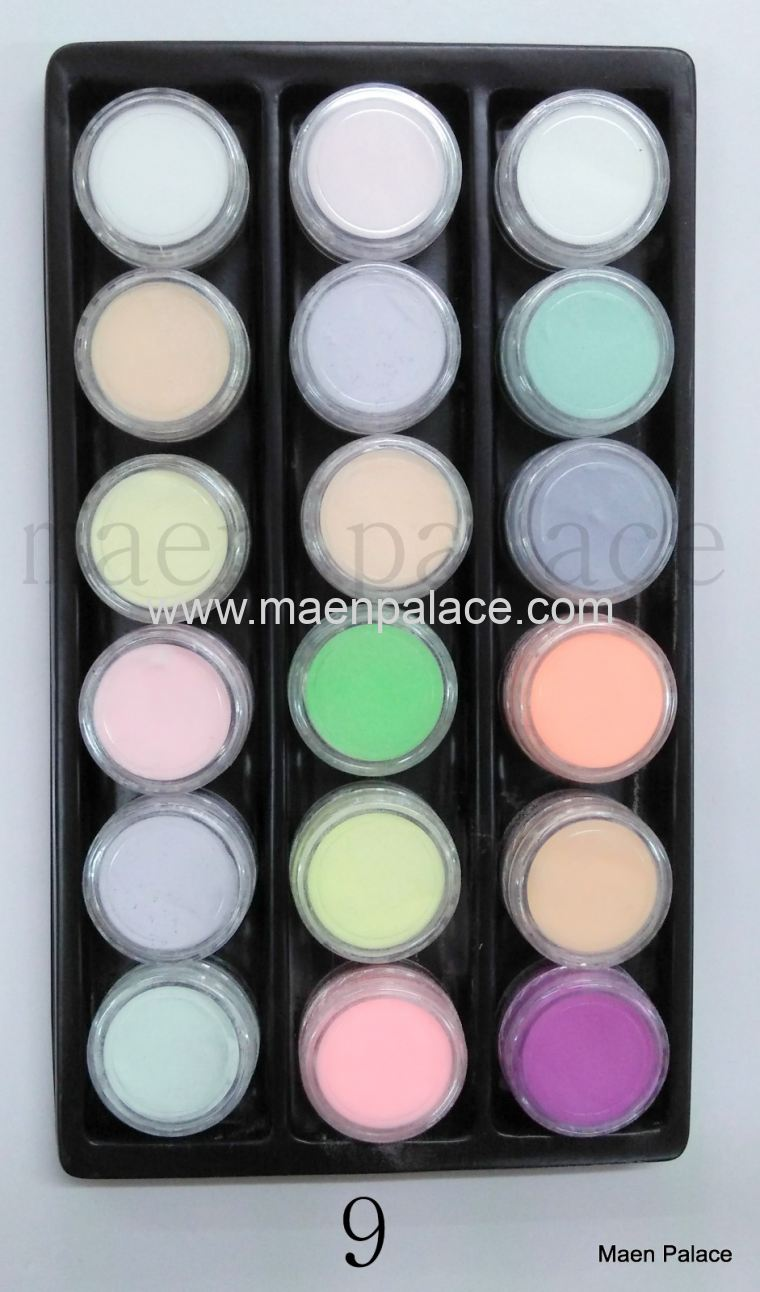 Acrylic Powder Set - 18 colours